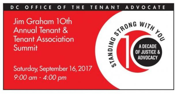 Office of the Tenant Advocate 10th Anniversary